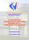 III Reunión de Residentes de Medicina Interna de la Comunidad Valenciana