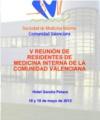V Reunión de Residentes de Medicina Interna de la Comunidad Valenciana