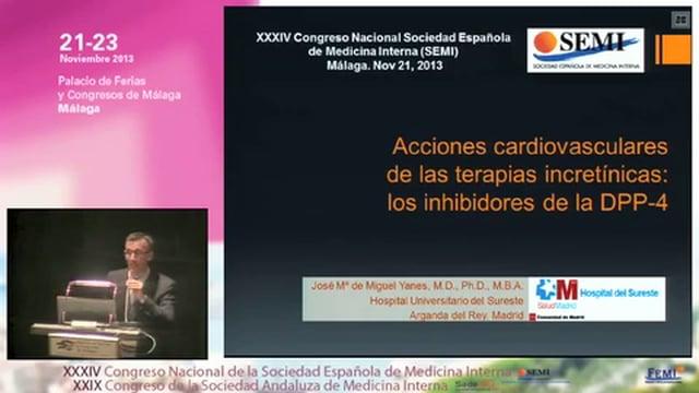 Acciones cardiovasculares de las terapias incretínicas