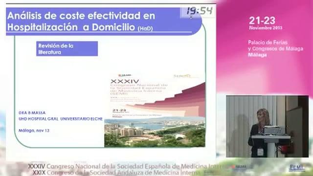 Análisis de coste-eficacia en hospitalización a domicilio: revisión de la literatura