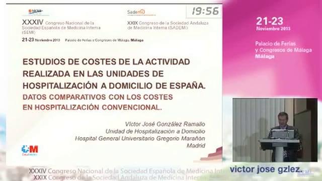 Estudios de costes de la actividad realizada en las Unidades de Hospitalización a Domicilio de España. Datos comparativos con los costes en hospitalización convencional