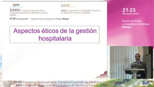 Aspectos éticos de la gestión hospitalaria