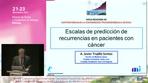 Escalas de predicción de recurrencias en pacientes con cáncer