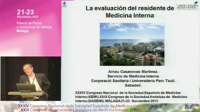 La Evaluación del Residente en Medicina Interna