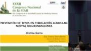 Prevención de ictus en Fibrilación Auricular: nuevas recomendaciones