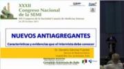 Características y evidencias de los nuevos antiagregantes que el internista debe conocer