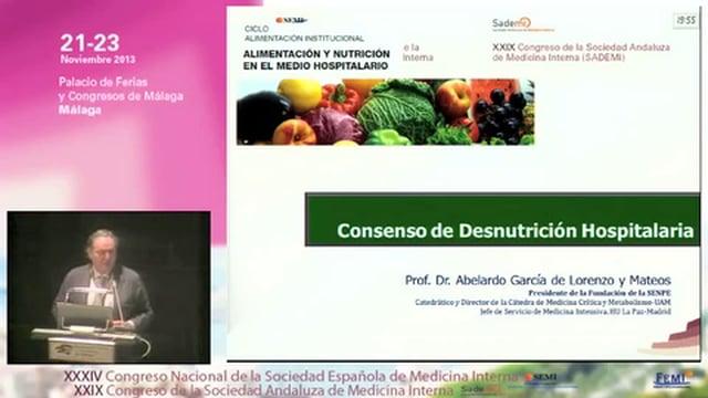 Consenso Desnutrición Hospitalaria