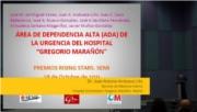Área de dependencia alta (ada) de la urgencia del Hospital Gregorio Marañón