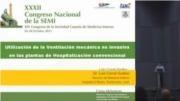 Aplicación en las plantas de Medicina de la ventilación mecánica no invasiva en pacientes con órdenes de no intubación