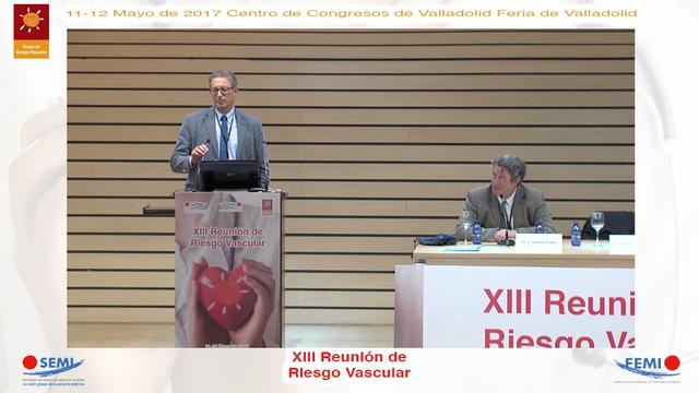 Coloquio Conferencia XIII Reunión Riesgo Vascular