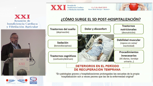 Síndrome posthospitalización e insuficiencia cardíaca