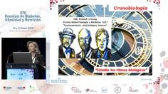 Conferencia inaugural Crono-nutrición y diabetes