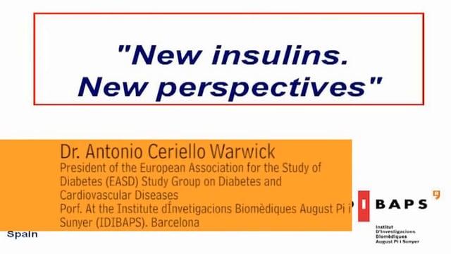 Novedades terapéuticas: nuevas insulinas. Nuevas perspectivas
