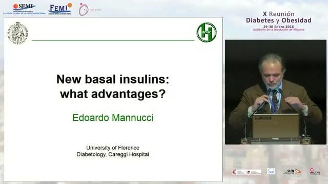 Conferencia Magistral: Nuevas insulinas basales, ¿Qué aportan?