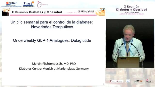Conferencia Magistral: Un clic semanal para el control de la Diabetes: Novedades terapéuticas