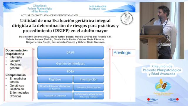 Determinación y evaluación del riesgo en procedimientos complejos en pacientes crónicos