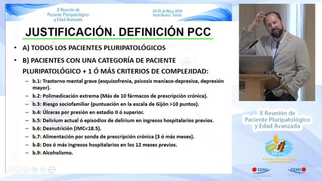 Impacto de los Pacientes con Enfermedades Crónicas y necesidades Complejas de Salud en Medicina Interna