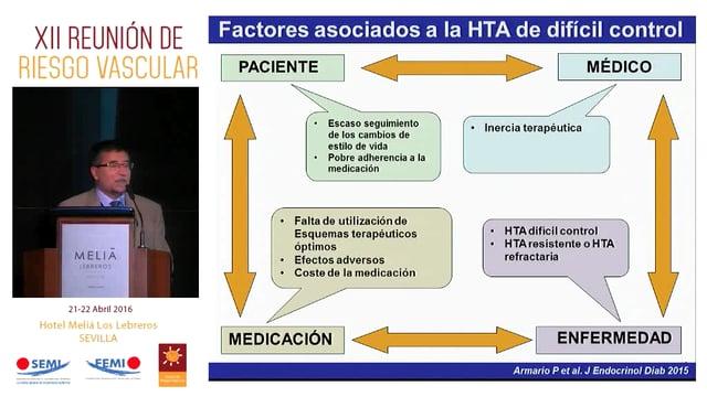 ¿Qué cifras de PA debemos asumir con tratamiento antihipertensivo en el paciente de alto riesgo cardiovascular? ¿Ha de ser igual en todos los pacientes?