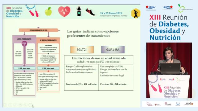 Seguridad Cardiovascular en el paciente diabético frágil e idoneidad de los iDPP4