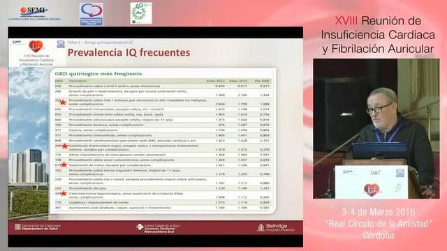 Taller 1: Valoración del riesto perioperatorio en pacientes con IC