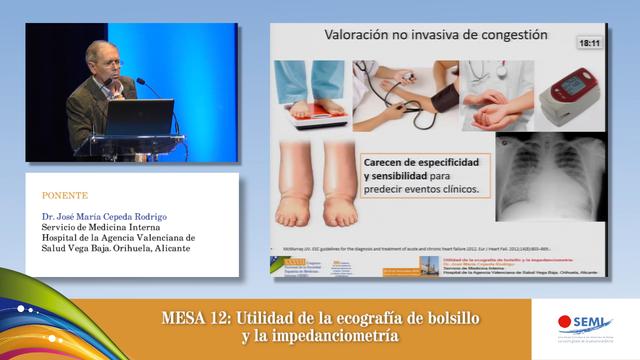 Mesa 12: Valoración del paciente con IC más allá de la clínica