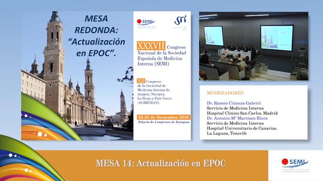 Mesa 14 : Actualización EPOC