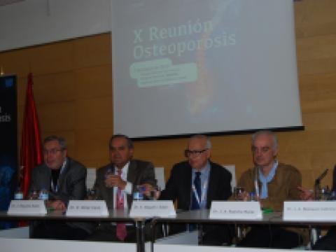 X Reunión de Osteoporosis